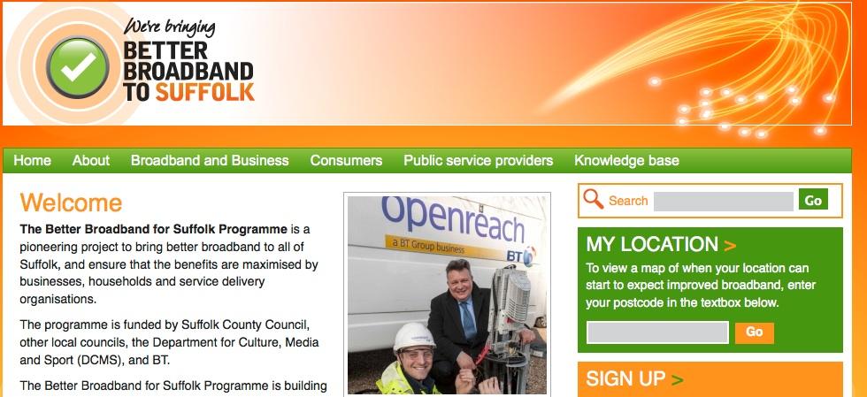 Better Broadband for Suffolk