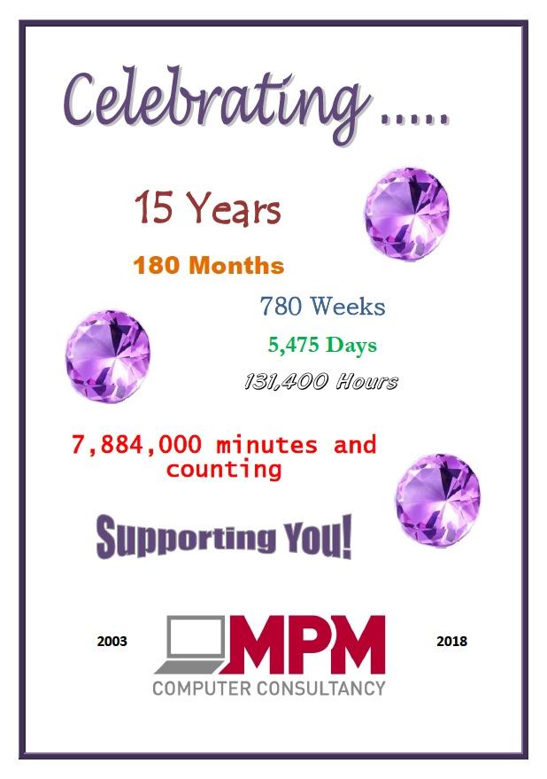 MPM IT 15 years